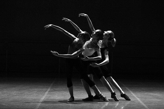 baletní představení v divadle