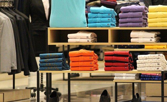 nákup oblečení